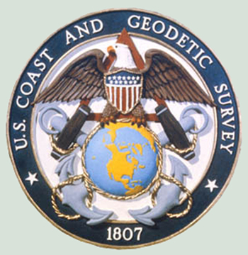 U.S. Coast and Geodetic Survey logo