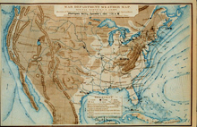 Signal Service weather map (1872)