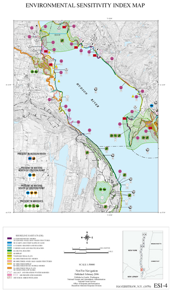 Map Hudson River