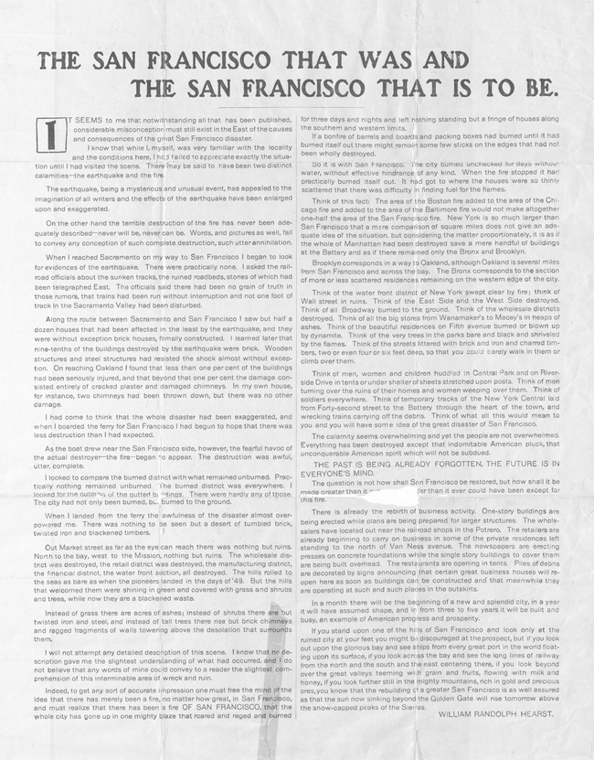 the story of william randolph hearst an american newspaper publisher How can the answer be improved.