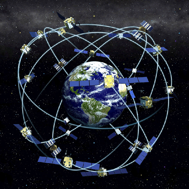 The orbits of GPS satellites