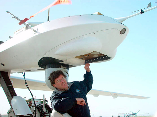 NOAA 200th: Visions: Climate Research: Altair unmanned aircraft ...